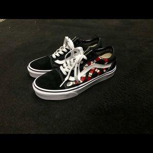 Vans Shoes - MENS  Hand painted Gucci Snake Oldskool Vans 2a5e5d358d0c